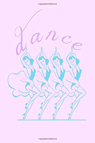 Dance: Ballet Homework Book Notepad Composition and Journal Diary