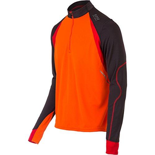 Fusion Radtrikot (Gore Bike Wear Fusion Langarm Radtrikot, Orange/Braun XL Naranja / marrón (blaze orange / raven brown))