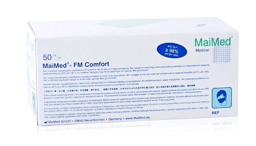 MaiMed® - OP-Mundschutz mit Gummizug MaiMed® - OP-Mundschutz unsteril 3-lagig blau 50 St./Box