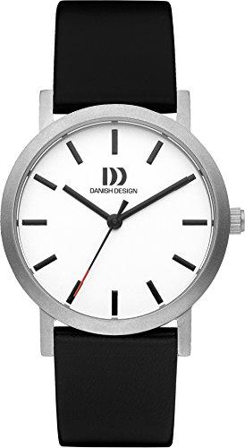 Danish Design Unisex-Armbanduhr DANISH DESIGN IV12Q1108 Analog Quarz Leder IV12Q1108