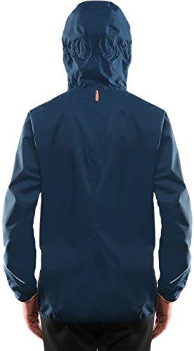 Haglöfs veste de pluie l.i. m f15 proof veste pour femme Blue ink