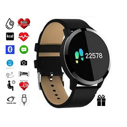 Fitness-Armband von Torus Pro | Smartwatch, Fitnessuhr, praktisch bei geplantem Gewichtsverlust | werden Sie fit und bleiben Sie fit