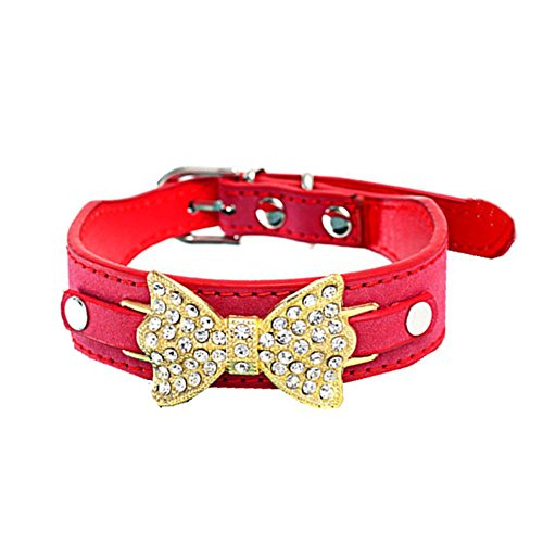 collier-chien-bow-pet-dog-puppy-collier-pour-chat-cristal-bling-avec-pu-cuir-xs-3025cm-rouge