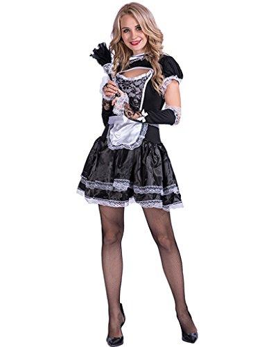JANDZ Fancy Carnival Kostüme: Female Cosplay Outfit: Mädchen -