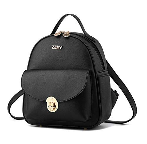 Cayla Frauen MädchenKleiner Rucksack Geldbörse Leder Mini Umhängetasche Rucksack Crossbody Umhängetasche Cute Daypack - Bowler Kleine Handtasche