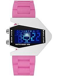 Niños Creativo Digital Reloj, Deportes Relojes Infantiles Impermeable Reloj de Pulsera para Chico y Chica