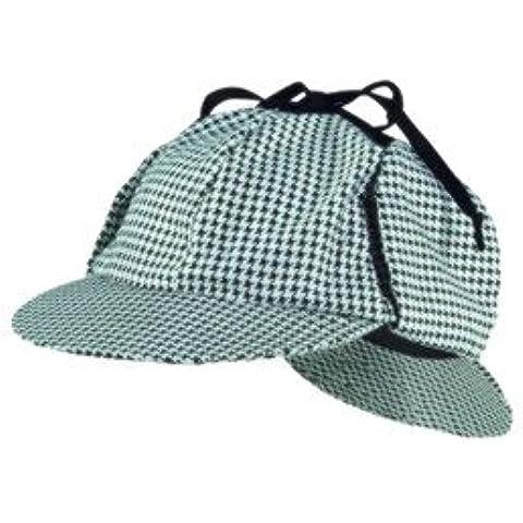 SHERLOCK HOLMES HAT FULL HEAD SIZE