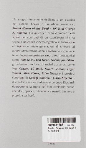 Zombi. Dawn of the dead di George A. Romero (Quaderni di sangue)