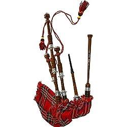Gran paquete de Highland gaita escocesa tamaño completo (Starter Kit)