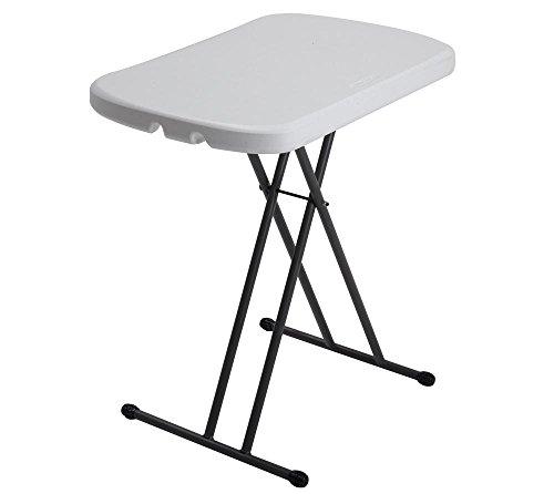 Lifetime Kunststoff Stehtisch, Falttisch, Partytisch 5er Set // 183x46 cm // Höhenverstellbarer Tisch für Partys, Feste und Feiern