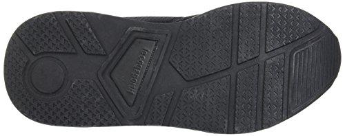 Le Coq Sportif LCS R600 Mesh, Baskets Basses Mixte Adulte Noir (Black)