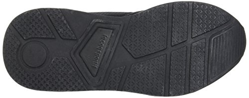 Le Coq Sportif Unisex-Erwachsene Lcs R600 Mesh Trainer Low Schwarz (Black)