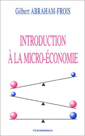Introduction à la micro-économie