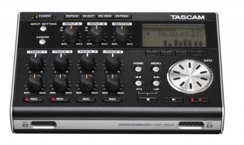 TASCAM DP-004 Portabler 4-Track-Mehrspurrecorder (Portabler 4-Track-Mehrspurrecorder)