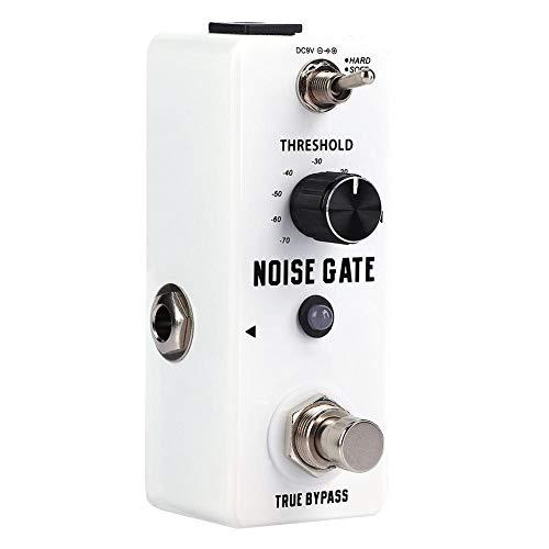 Mini Metal Shell Analoges Noise Gate-Gitarrenpedaleffekt mit True Bypass Instrument Zubehör - Pedal Gate Guitar Noise