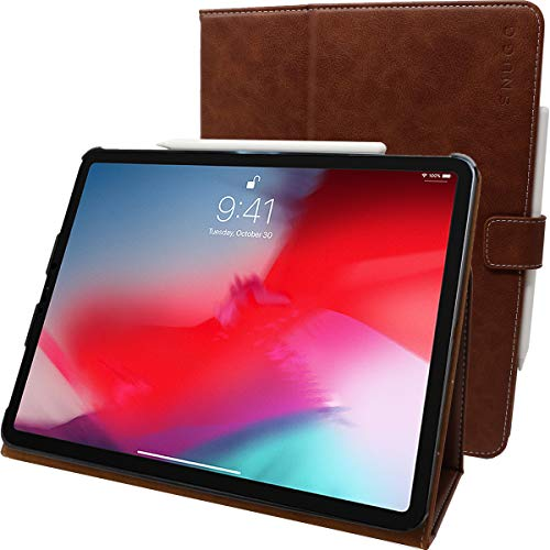 Snugg iPadPro2018LeatherParent braun Braun, Used-Optik iPad Pro 11