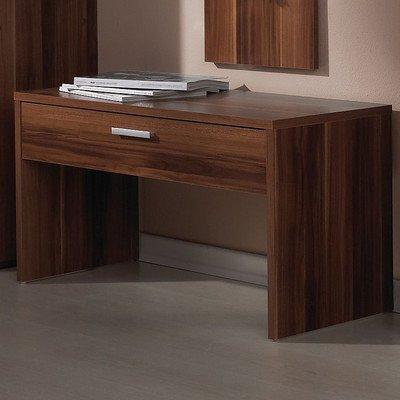 garderobenbank nussbaum bestseller shop f r m bel und einrichtungen. Black Bedroom Furniture Sets. Home Design Ideas