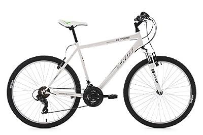 KS Cycling Mountainbike Hardtail Icros RH 51 cm Fahrrad, Weiß, 26 Zoll