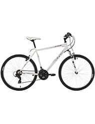 KS Cycling Uni Mountainbike Hardtail Icros RH 51 cm Fahrrad, Weiß, 26 Zoll