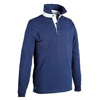 Harry Hall Men'Axminster s Rugby Shirt-Navy Blau, Small Blau marineblau S