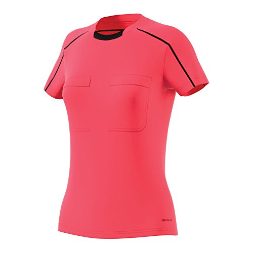 adidas Damen Referee 16 Women Jersey Schiedsrichtertrikot, Shock Red s16/Black, L