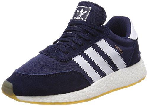 adidas Men's Iniki Runner Low Top Sneakers, Blue (Collegiate