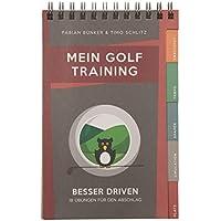 Mein Golf Training: Besser Driven - 18 Übungen für den Abschlag | Booklet für das Golf-Bag