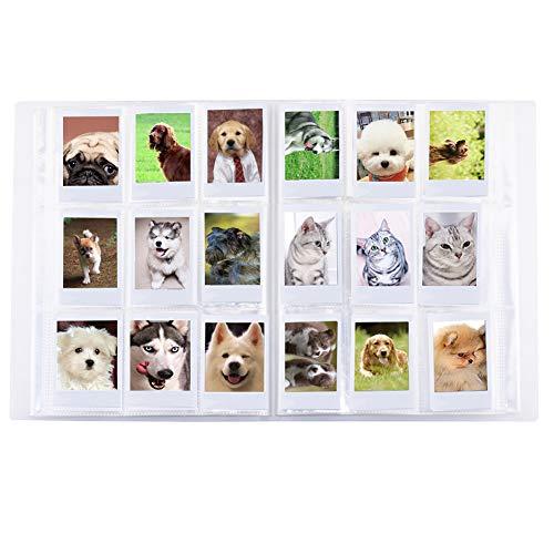 Cpano Store 288 Pochettes Mini Album Photo pour Polaroid Fujifilm Instax Mini 7s 8 8+ 9 25 26 50s 70 90 Film, Carte de Visite et Photos de 3 Pouces