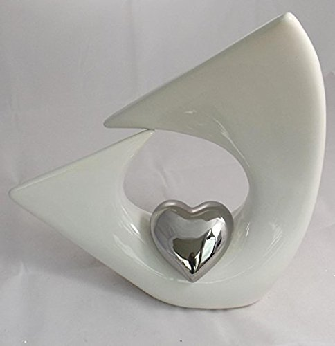 Skulptur Balance Heart Herz Heirat Hochzeit Balance Skulptur