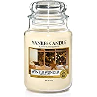 Yankee Candle Large Jar Scented Candle, Winter Wonder