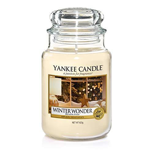 Yankee Candle-Duftkerze im Glas, groß, Winter Wonder
