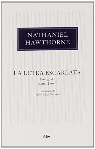 La letra escarlata (OTROS FICCION) por NATHANIEL HAWTHORNE