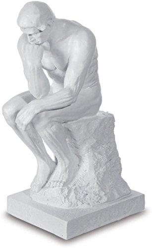 A+ Figura Pensador Rodin Color Piedra-15cm