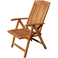 Wunderbar ASS Teak Design Hochlehner Gartensessel Gartenstuhl Sessel Holzsessel  Klappsessel Gartenmöbel Holz Sehr Robust 7fach Verstellbar