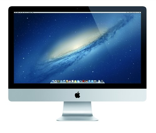 "Apple iMac 2.9GHz Intel Core i5 27"" 2560 x 1440Pixeles Plata - Ordenador de sobremesa All in One (68,6 cm (27""), Wide Quad HD, Intel Core i5, 8 GB, 1000 GB, Mac OS X 10.8 Mountain Lion)"