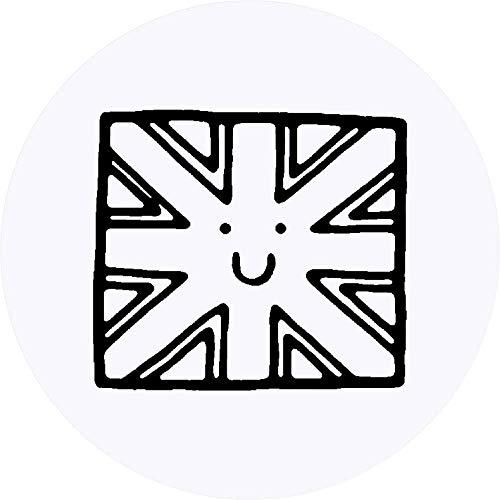 Azeeda 24 x 40mm Runden 'Britische Flagge' Aufklebern / Stickers (SK00013048)
