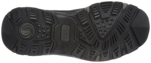 camel active - Evolution 11, pantofole da uomo Nero (charcoal/black 22)