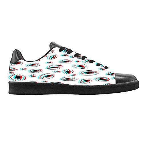 Dalliy augen muster Men's Canvas shoes Schuhe Lace-up High-top Sneakers Segeltuchschuhe Leinwand-Schuh-Turnschuhe B