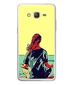 Fuson Designer Back Case Cover for Samsung Galaxy On7 G600Fy :: Samsung Galaxy Wide G600S :: Samsung Galaxy On 7 (2015) (Girl Young Youngster Meditate Artist Men Women )