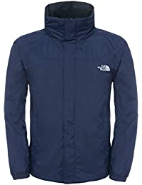The North Face Resolve, Chaqueta de acampada y senderismo Hombre, Negro (TNF Negro