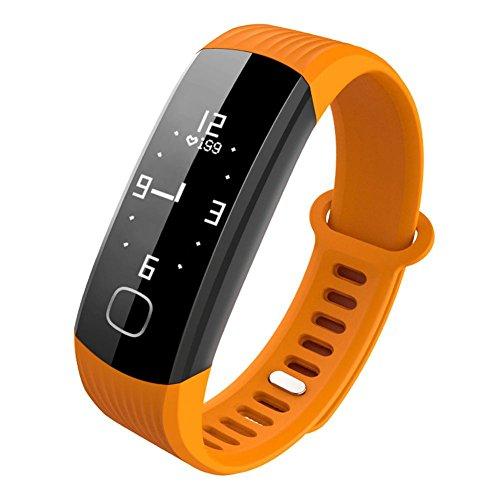 T Smart Armband Kontinuierliche Herzfrequenz Echtzeit-Überwachung Schrittzähler Wasserdichte Blutdruck Pulsmesser Sportuhr R8