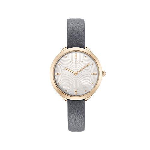Ted Baker Reloj Analógico para Mujer de Cuarzo con Correa en Cuero TE15198025