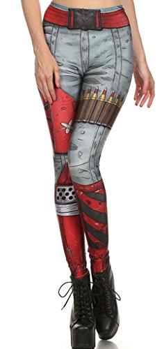 Belsen - Legging - Femme multicolore b L Leggings