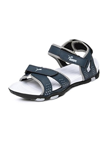 Puma Men's Marcus Blue Sandals and Floaters - 7 UK