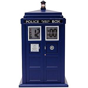 Réveil à projection Dr Who Tardis