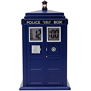 Doctor Who Tardis Digital Projection Alarm Clock, DR190