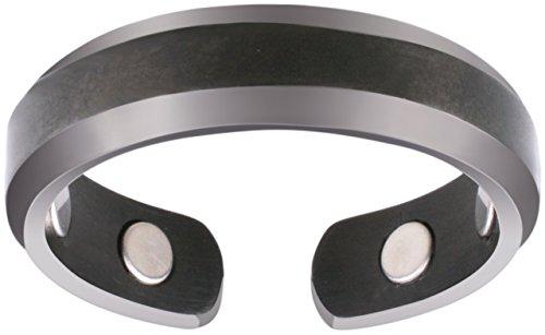 Ringe Für Männer Frieden (Smarter LifeStyle Elegantes Magnetisches Therapie-Ring Aus Titan Schmerzlinderung Für Arthritis Und Karpaltunnelsyndrom Größe 10 Mattgrau)
