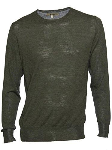 whyred-herren-pullover-strickpullover-sweater-merinowolle-grun-dark-olive-melange-xl
