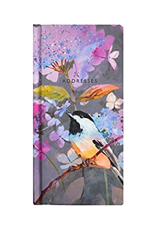 Carolyn Carter–Watercolour-Design Slim Adressbuch
