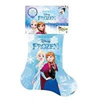 Calza della Befana a tema Disney Frozen. La calza contiene i seguenti prodotti:- B5180 FRZ Small Doll - B5185 FRZ Small Doll Pack - FRZ Fumetto Deluxe